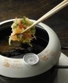 あげた亭 温度計付き天ぷら鍋20cm