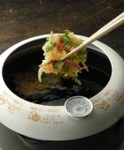 ヨシカワ あげた亭 温度計付き天ぷら鍋20cm【SH9257】